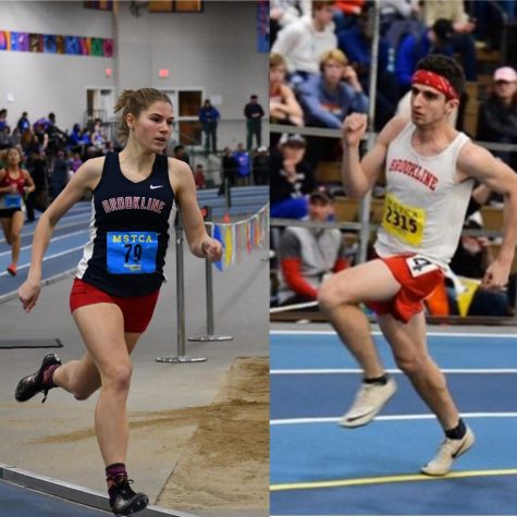 Juniors Sonja Nagle and Myles Liss-Riordan have risen to the top on and off the track. They both continue to train hard, despite challenges that may arise.