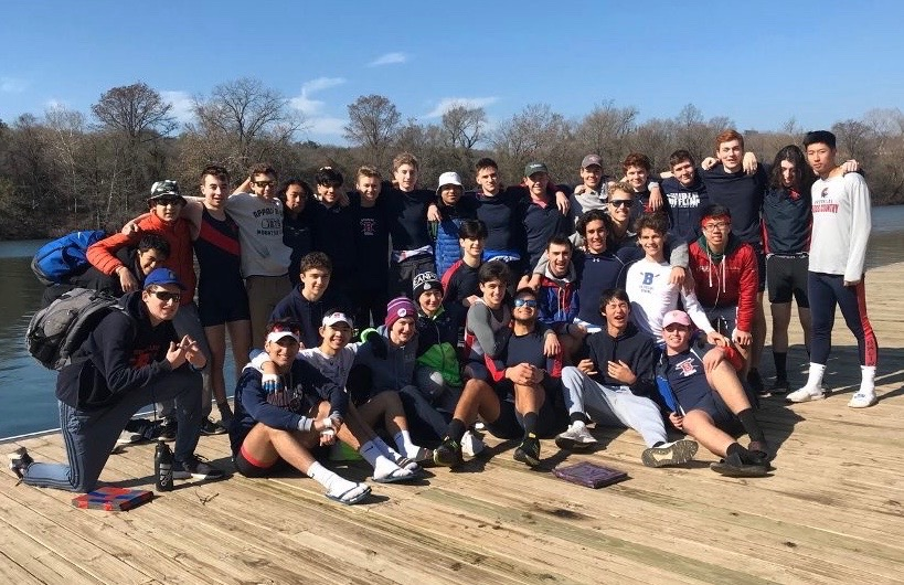 The boys and girls crew team goes to Texas every year during February break to start practicing on the water for the spring season. The trip allows for the rowers to get to know one another on a deeper level.