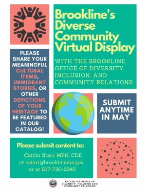 Public Service Announcement: Brookline's Diverse Community Virtual Display
