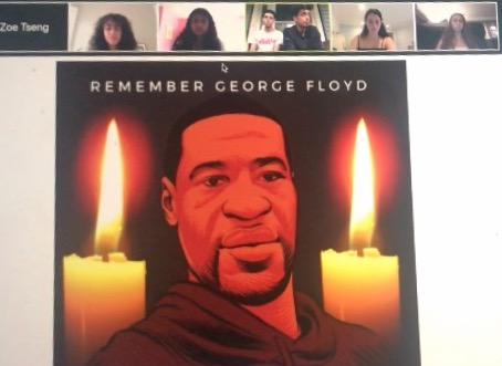 BHS holds vigil for George Floyd