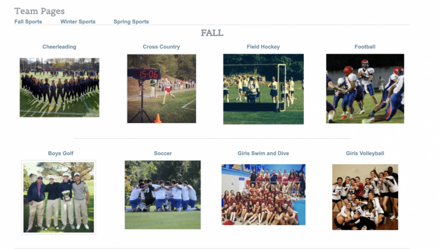 Fall 1 sports offered are boys and girls cross country, field hockey, boys golf, boys and girls soccer and girls swimming and diving.  The Fall 2 sports offered are football, cheerleading and girls volleyball.