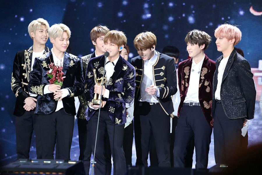 Pictured above receiving a Golden Disk Award in 2017, BTS have had no shortage of success in the past three years. The members mostly recently performed in a two day virtual concert event, Map of the Soul ON:E, finishing the two days with over 900,000 views.