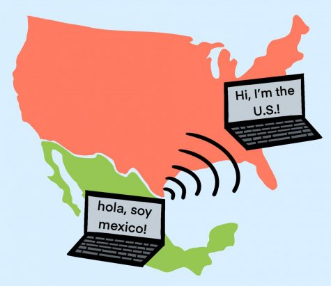 Created by Spanish teacher Pedro Mendez, Intercombio Linguistico allows students at the high school to both improve their Spanish and connect with fellow high school students in Mexico.