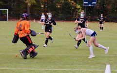 The field hockey program  works to popularize the sport since it's not offered as a recreational team in Brookline.