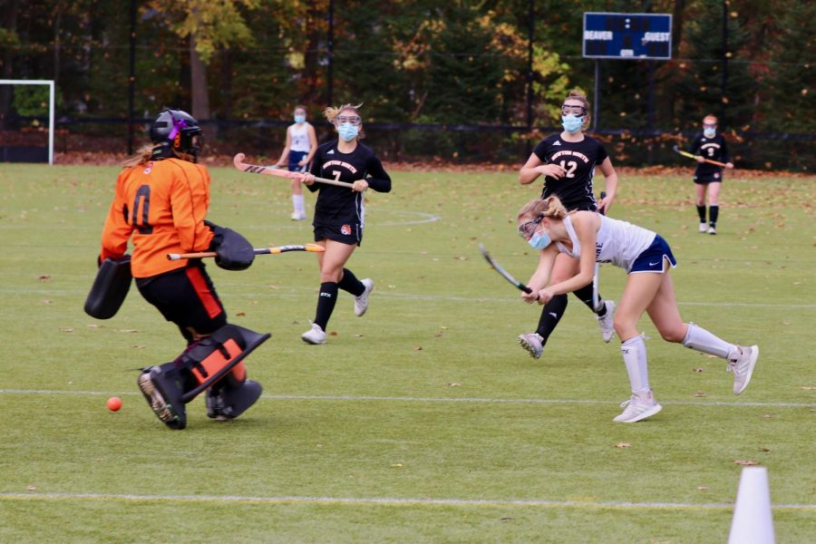 The field hockey program  works to popularize the sport since it