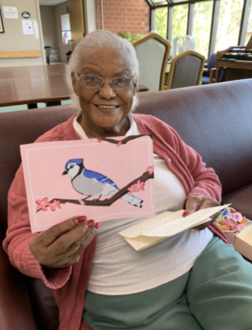 Letters For Rose is a student organization that uses art and letters to connect to elders in nursing homes.