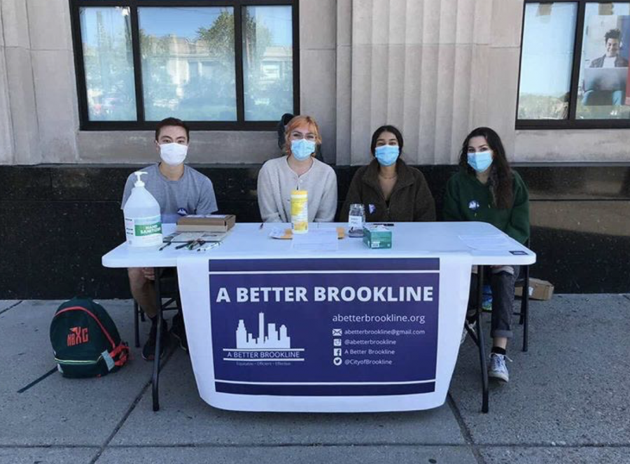A Better Brookline (ABB) seeks to change Brookline from a town government into a city and make town politics more fair and equal for every community member.