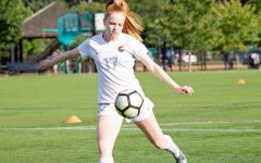Maya Leschly, who has played soccer both at the high school and the University of Pennsylvania, spent her fall semester completely remote, making in-person practice for her college team impossible.