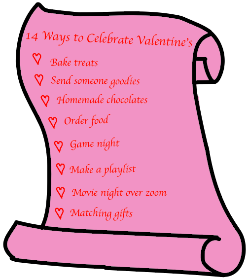 Read to get some ideas on how to celebrate your Valentine's Day safely.