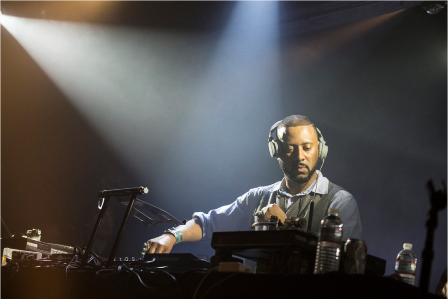Madlib performed with Freddie Gibbs at The Echoplex in March 2014. Madlib's new solo work takes on a more melancholic mood than his normal atmospheric and nostalgic style.