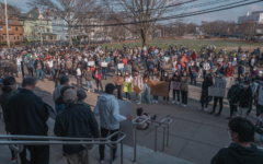 On March 26 at 4 p.m. community members gathered at the high school to honor the victims of the recent racially-motivated shootings in Atlanta. The vigil featured many guest speakers who shared their experiences of hate and advocated for change
