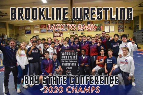 The wrestling team has made a name for themselves at the high school by becoming back to back Bay State Conference champions.