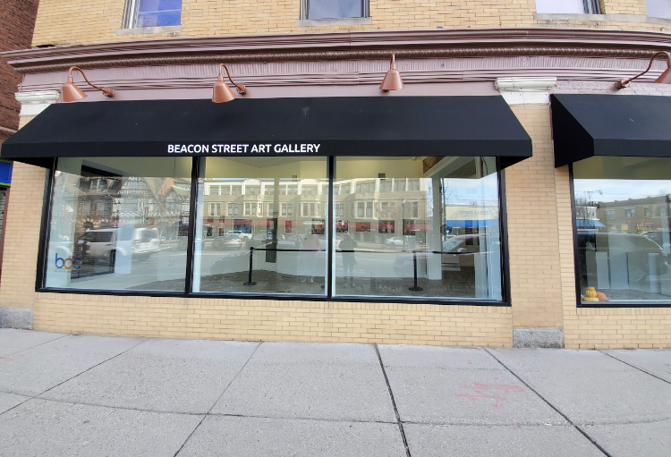 The gallery has been in Brookline since the fall of 2020, and as written on the BAC Gallery web page, its purpose is to display artwork in a manner that is accessible to everyone.