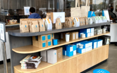 Blue Bottle is one of Chestnut Hill's newest cafes. It offers a large assortment of unique coffee, beverages and bakery items.