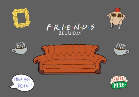"""""""Friends: The Reunion"""" features wacky games that help the """"Friends"""" cast reconnect with each other and viewers."""