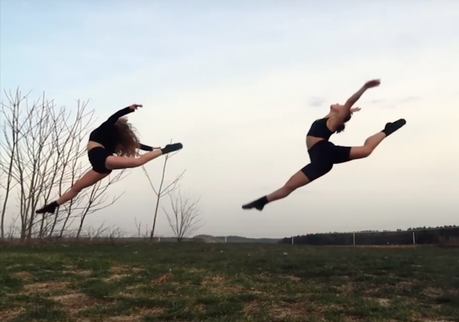 This year's Progressions was the first ever that was held on Zoom and was the first in two years, due to last year's canceled performance. Senior Lily Woodward and her dance studio friend Ana Matei put on a stunning performance to Hold Back.