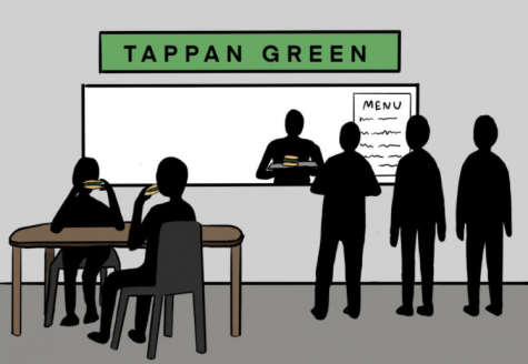 The school restaurant will reopen in the fall of 2021 with the name Tappan Green.