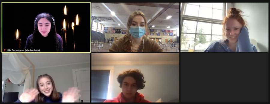 The new science help center meets on Zoom every X-Block and on Wednesdays.