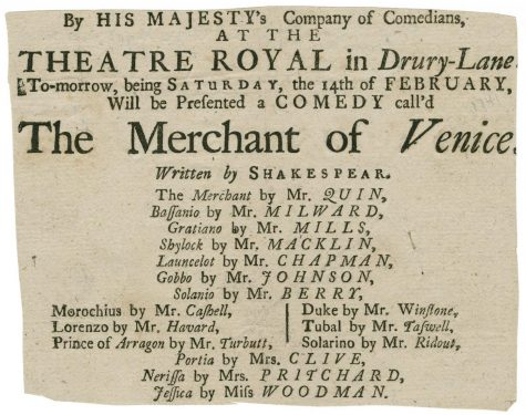 """The choice of """"The Merchant of Venice"""" for the next Shakespeare Play caused controversy due to anti-semitic themes and expected burden on Jewish students."""
