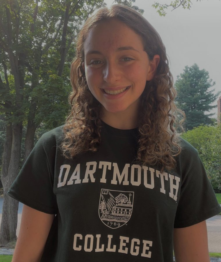 Alexa Kalish has recently committed to Dartmouth Swim and Dive. She has dedicated herself to the sport throughout high school.