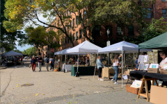 Brookline Open Studios was held on Saturday, Oct. 2. Local artists exhibited their work at two Brookline locations