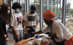 Many visited this years Indigenous Peoples Day celebration and learned about Indigenous crafts.